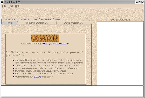 SandMark: Software Watermarking for Java